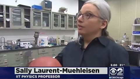 Sally Laurent-Muehleisen, adjunct professor of physics, spoke to CBS 2 Chicago about physics and Deflategate.