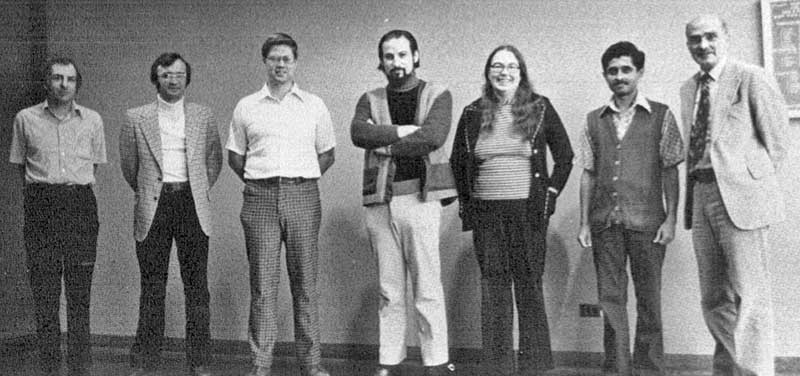 Peter Greene, Anthony Wojcik, James Vandendorpe, Edmond Schonberg, Martha Evens, Sharad Wagle, and Charles Bauer