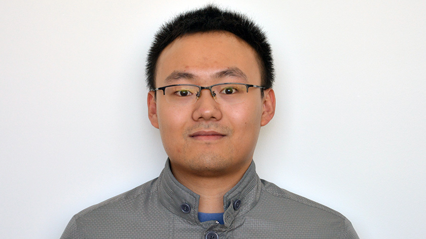 Master of Applied Mathematics student Le Zhu