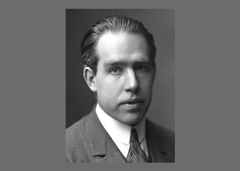 NIELS BOHR: Within the 20 years of the foundation of Armour and Lewis, the scientific world was turned on end—from the discovery of the electron in 1897 to the introduction of the atomic Niemodel in 1913. Atoms and quanta were now the standard for describing the physical world. The new theory of quantum mechanics was introduced to deal with the new probabilistic world of the atom, and mathematics developed in the 19th century found application in the solution of the complex equations that evolved from this