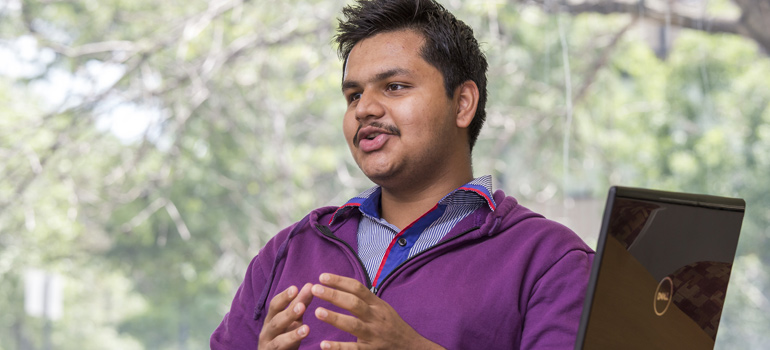 Undergraduate Shreyas Moudgalya (CS 2nd year) worked to build the capacity of the Graph/Z scalable graph processing system.