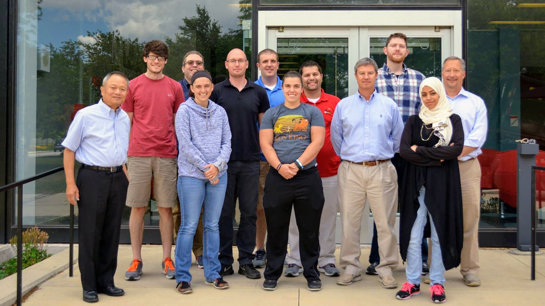In June, students in the online Master of Health Physics program gathered on campus for their Instrumentation for Radiation Health Physics lab class.